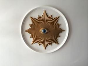 Masonic Eye in the ceiling